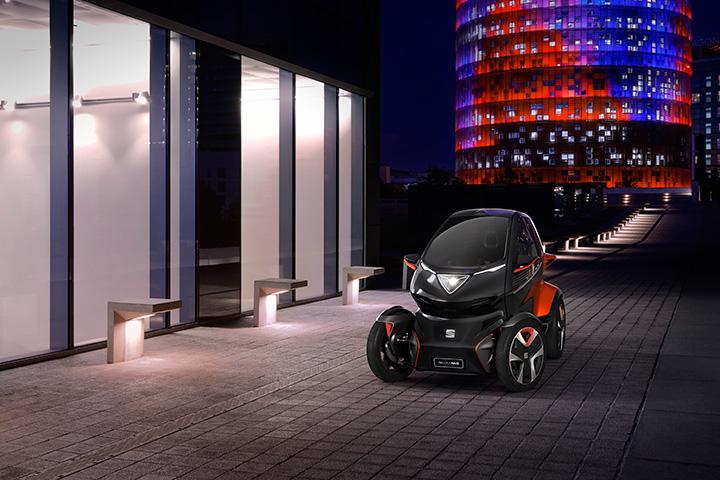 7a9e3b16d4 A SEAT a Mobil Világkongresszuson fedte fel a városi mobilitás jövőjéről  szóló elképzelését, a Minimó koncepcióautó bemutatásával.