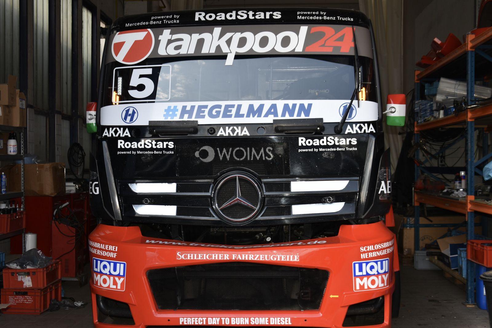 13761cc94e Régi mérnökével készül a 2019-es szezonra Kiss Norbert. A kétszeres  Európa-bajnok magyar kamionversenyző idén is marad a német Tankpool24  csapatnál, ...